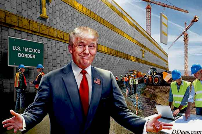 Youre Paying for Trump Wall — and Slave Labor Might Be Used to Build It