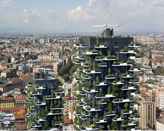 Asia First-Ever Vertical Forest Will Produce 132 Pounds Of Oxygen Each Day c