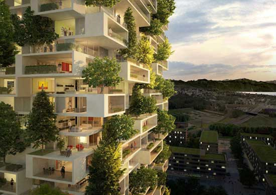 Asia First-Ever Vertical Forest Will Produce 132 Pounds Of Oxygen Each Day v