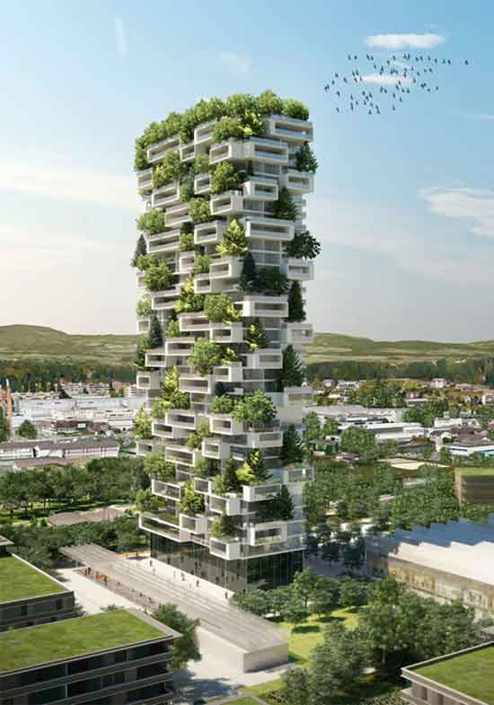 Asia First-Ever Vertical Forest Will Produce 132 Pounds Of Oxygen Each Day z