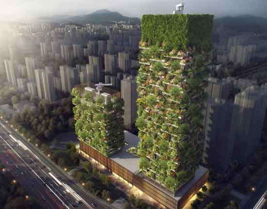 Asia First-Ever Vertical Forest Will Produce 132 Pounds Of Oxygen Each Day b