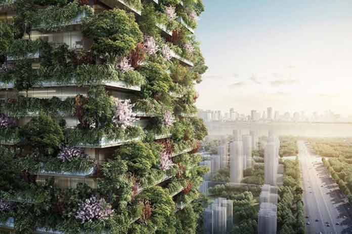 Asia First-Ever Vertical Forest Will Produce 132 Pounds Of Oxygen Each Day