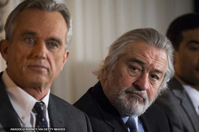 Robert De Niro Robert F. Kennedy Jr. offer 100K to Anyone Who Can Provide PROOF Vaccines Are SAFE