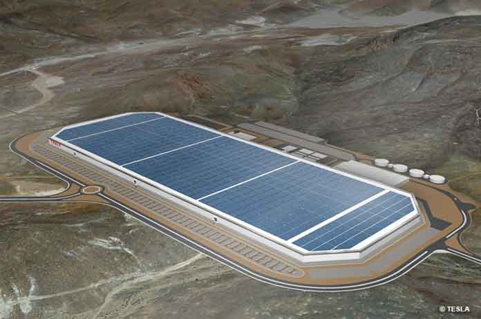 Tesla Goes Big as Battery Production Begins at Massive Nevada GigaFactory