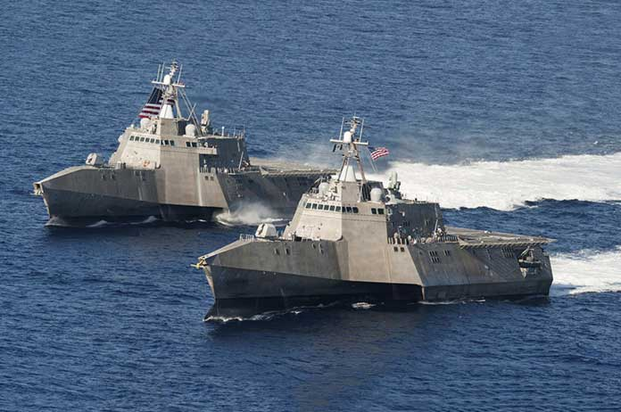 U.S. Blaming Iran for Attack on American Navy That Never Actually Happened