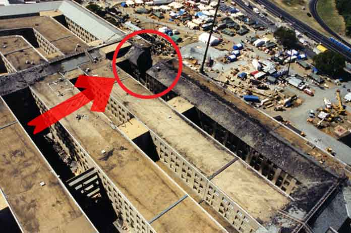 Never Before Seen Photos of 911 Pentagon Wreckage