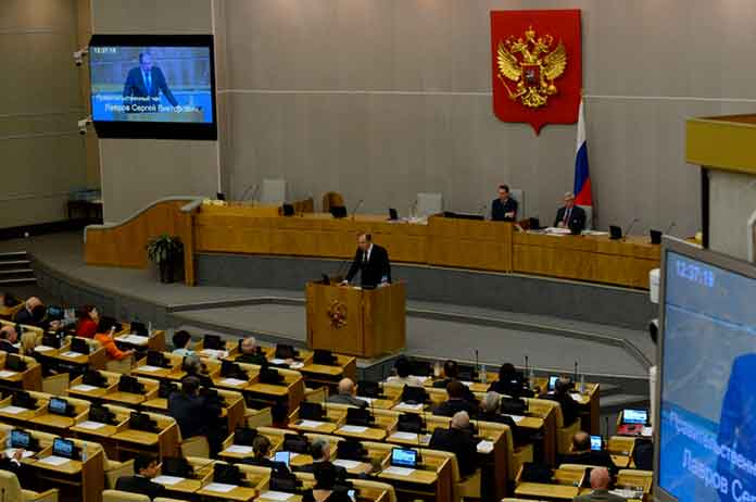 Russian Parliament Calls For Inquiry Into US Media Outlets