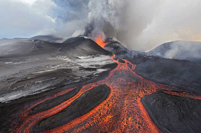 Volcanoes Erupting All Over The World: Is Something Happening To The Earth's Core?