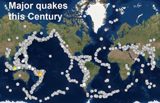 Volcanoes Erupting All Over The World: Is Something Happening To The Earth's Core ee