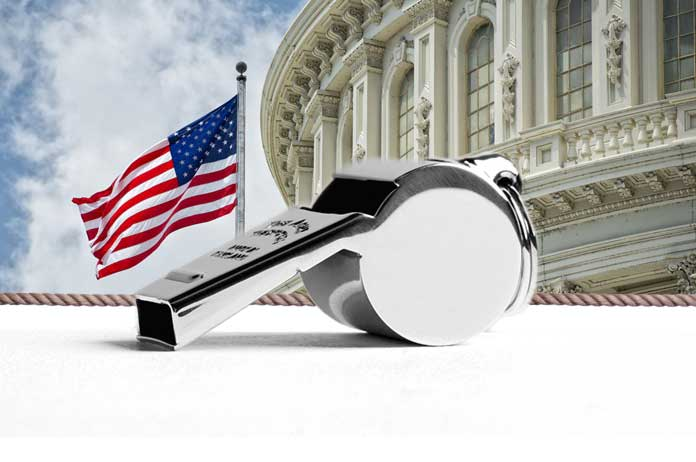 When Whistleblowers Tell the Truth They Traitors. When Government Lies Its Politics