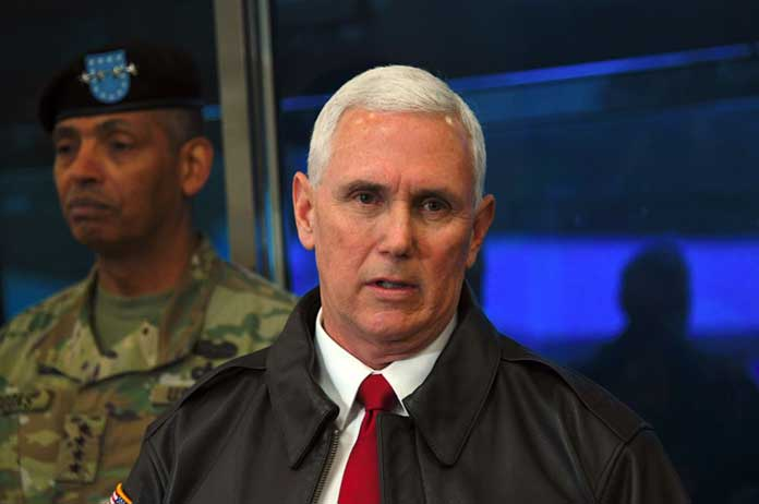 Pence U.S. Ready to Use Overwhelming Force in Response to North Korea