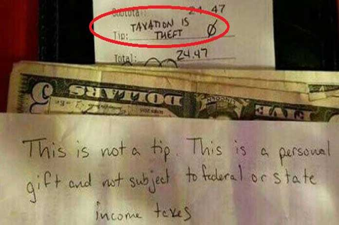 The Taxation Is Theft Meme Has Officially