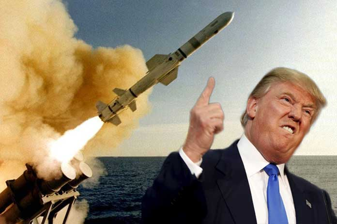 US Just Fired 50 Tomahawk Missiles At Syrian Military Base
