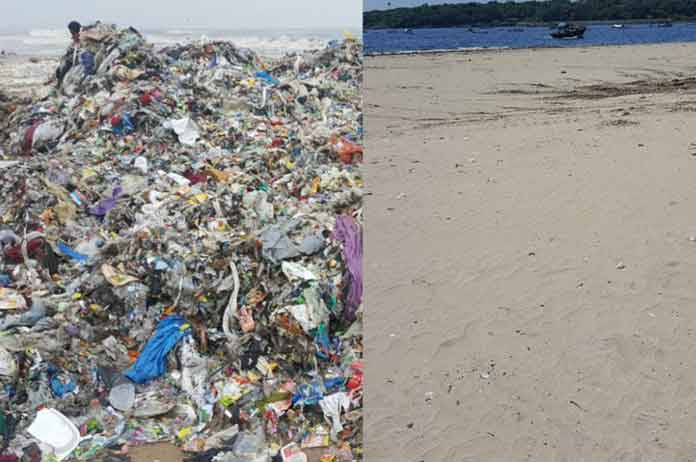 World Largest Beach Cleanup Removes 5.3 MILLION Kg Of Trash And Now It Looks Transformed