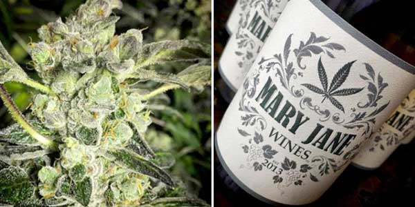 You Can Now Buy Weed-Infused Wine In CA