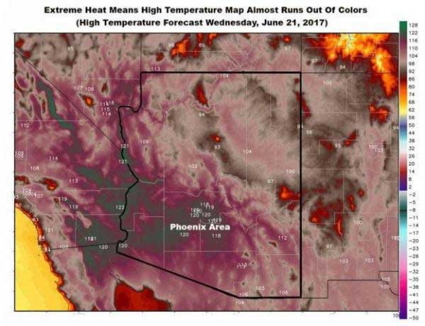 Pictures From Arizona Heatwave Everything Is Literally Melting1