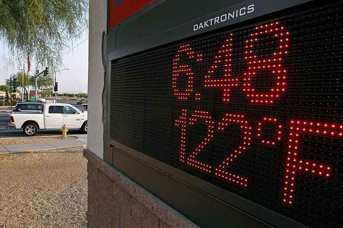 Pictures From Arizona 1Heatwave Everything Is Literally Melting