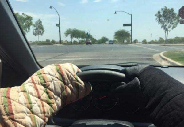 Pictures From Arizona Heatwave Everything Is Literally Melting