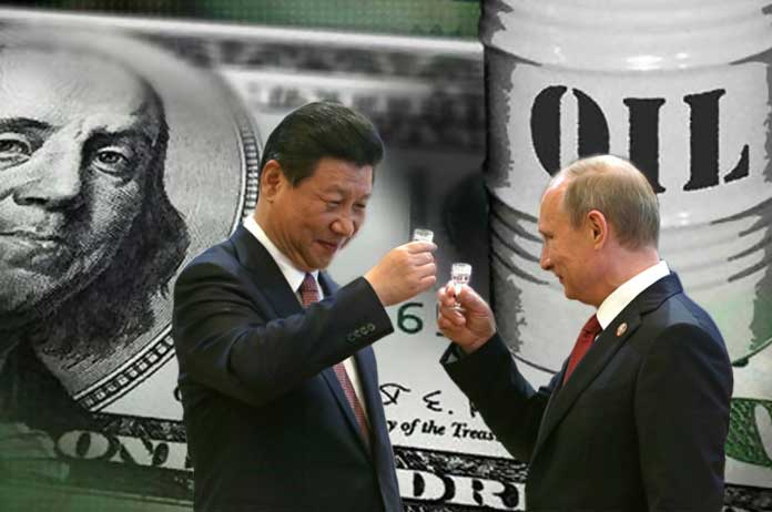 Russia & China Declare All Out War on US Petrodollar
