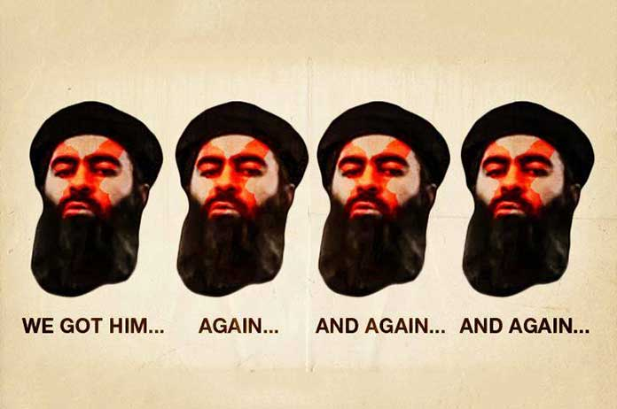 US Saying ISIS Leader Killed Countless Times Is Alive Again