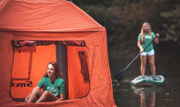 First Floating Tent Will Make You Want To Live In Nature 1