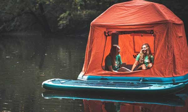 First Floating Tent Will Make You Want To Live In Nature 2