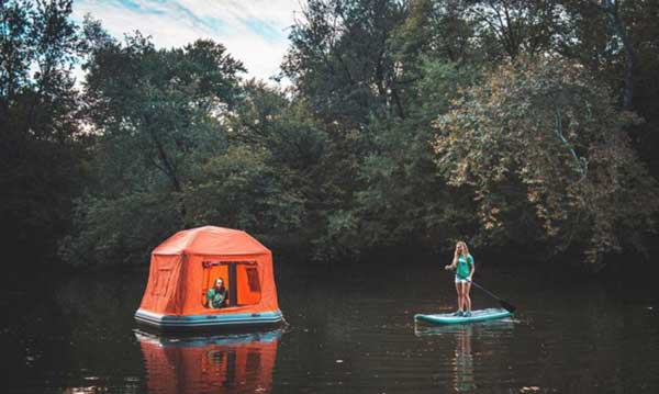 First Floating Tent Will Make You Want To Live In Nature