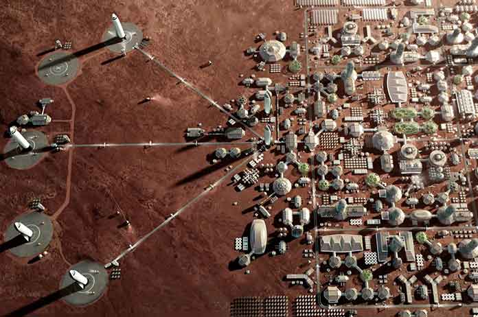 Read Elon Musk S Bold Mars Colony Plan For Free Online
