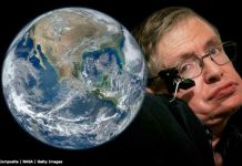 Stephen Hawking predicted the world will end