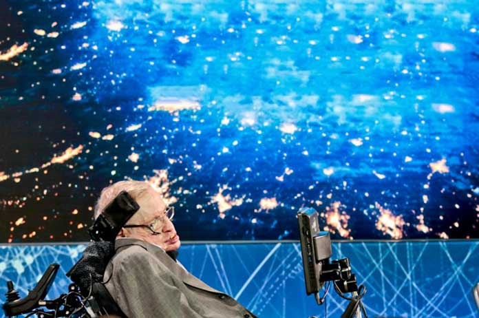 Stephen Hawking submitted a final scientific paper 2 weeks before he died
