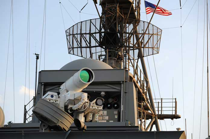 US Navy Says They Will Have Weaponized Lasers In Use By 2020